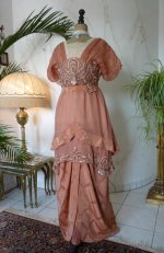 2 antique evening gown 1912