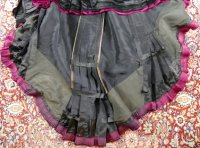 49 antique Pingat bustle dress 1880