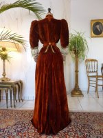 46c antique gown