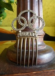 antique hair comb