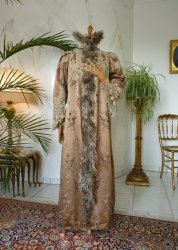 antique opera coat