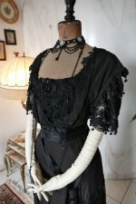 3 antique Drecoll dress 1906