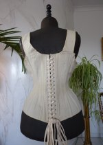 17 antique sport corset 1880