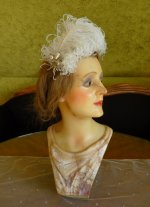 2 antique wax mannequin 1920