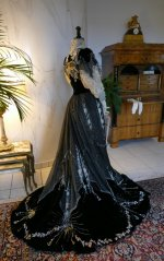 53 antique Gustave Beer gown 1906