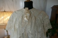 1 antique dressing gown 1890