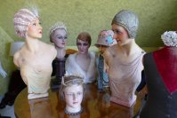 1 antique mannequins