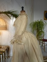 16 antique wedding gown 1877