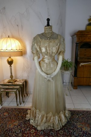 antique ball gown 1900