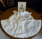 21 antique christening gown