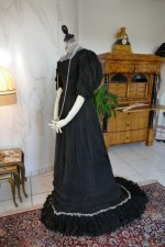 14 antique evening gown 1896