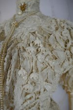 10 antique ALTMANN Battenburg lace dress 1904