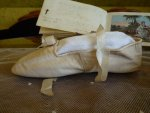 4 antique ball slippers 1810