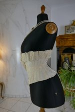 10 antique silk corset 1901