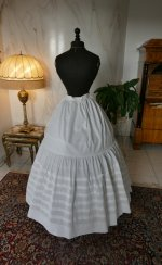 8 antique petticoat 1862