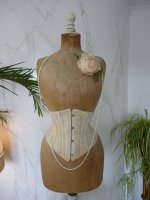3 antique underbust corset 1900