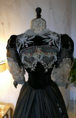 37a antique Gustave Beer gown 1906