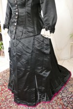 13 antique Pingat bustle dress 1880