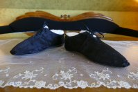4 antique slippers 1850