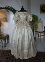49 romantic period wedding gown 1835
