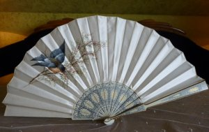 antique fan 1900