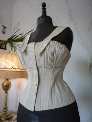 antique sport corset 1880