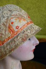 11 antique cloche hat 1927