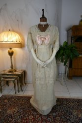 antique dress Havet Agnes 1912