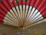 2 antique fan 1910