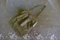 2 antique metal mesh purse 1915