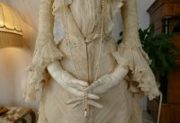 12 antique society dress 1901