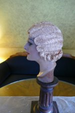 6 antique hair cloche 1920