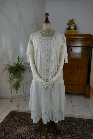 antique tea gown 1926