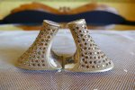 1 antique jewelled shoe heeles 1920