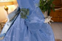 21 antique ball gown 1864