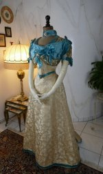 2 antique evening gown 1895