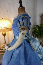 35 antique ball gown 1864