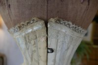 3 antique PD Marcel corset 1900