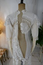29 antique irish crochet dress 1904