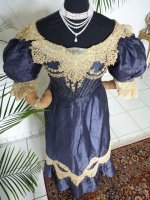 antique dress 1895 10