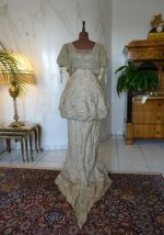 32 antique Maurice Mayer gown 1913