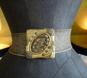 antique belt 1900