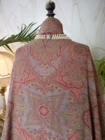 18 antique Paisley shawl 1860