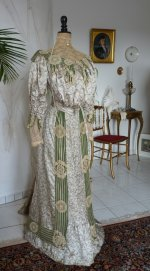 6 antique recpetion gown 1904