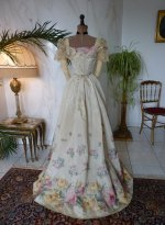 32 antikes abendkleid 1895