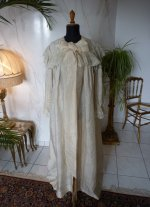 2 antique Peignoir 1895