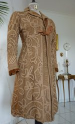 5 antique battenburg lace coat 1906
