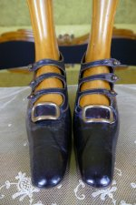 3 antique edwardian shoes 1901