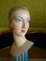 1 antique shop display mannequin 1927