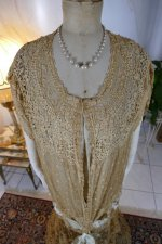5 antique Drecoll Negligee 1912